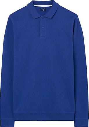 Honeycomb Collar Sweatshirt - Royal Blue Mel GANT