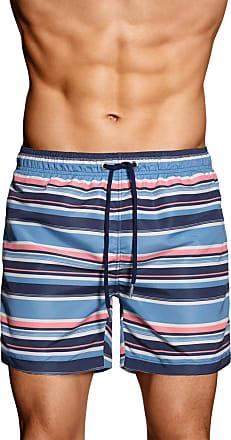 Multistripe Swim Shorts - Navy GANT