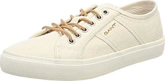 GANT New Haven, Zapatillas para Mujer, Beige (Bone Beige), 39 EU