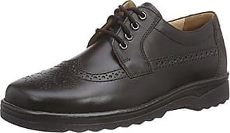 Ganter ERIC, Weite G - zapatos con cordones de cuero hombre, Espresso 200, 44