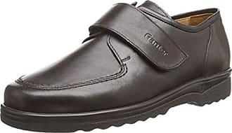 Ganter Eric, Weite I - Zapatos con Cordones de Cuero Hombre, Color Marrón, Talla 42.5