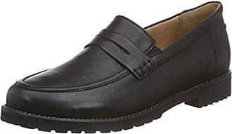 Ganter Sensitiv Inge, Weite I - Zapatos con Cordones de Cuero Mujer, Color Negro, Talla 38,5