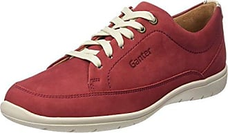 Ganter Gill, Weite G, Zapatos Derby para Mujer, Rojo (Rubin 4300), 43 EU (9 UK)