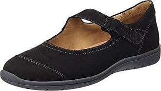 Ganter Helena - Zapatillas para Mujer, Color Negro (Schwarz 0100), Talla 35.5 EU