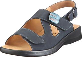 Ganter Monica, Weite G 1-202591-3000 - Sandalias de vestir de cuero para mujer, color azul, talla 38