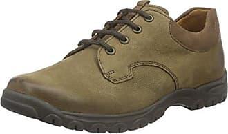 Ganter Sensitiv Inge-I, Zapatos de Cordones Derby para Mujer, Negro (Schwarz/Multi 01990), 40.5 EU