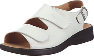 Ganter MONICA 9-202591-02000, Damen Sandalen/Outdoor-Sandalen, weiß, (weiß 0200), EU 36, (UK 3½), Weite G
