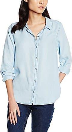 Dorothy Perkins Dobby Wrap, Blusa para Mujer, Azul (Blue 110), 42