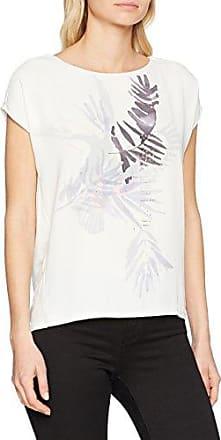 Garcia Jeans Garcia O80006, Camiseta para Mujer, Blanco (Off White 53), M