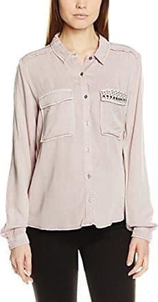Garcia Jeans Garcia Q80038, Blusa para Mujer, Multicolor (Off White 53), L