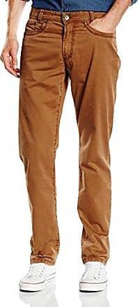 Pantalón straight para hombre, talla W29 (ES 38), color beige (ocker) Gardeur