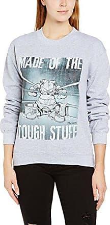 Garfield 154 Made Of Tough Stuff Camiseta con manga corta para mujer ... 1e2738268a28d