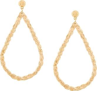 Gas Bijoux enameled earrings - Metallic