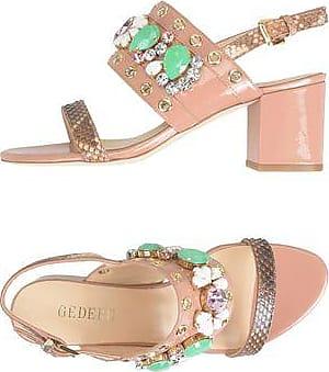 Suede KASIA Sandals Spring/summer Gedebe