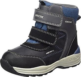 Geox B New Gulp B ABX B Stivali Classici Bimba Grigio Dk Grey/Black H6o