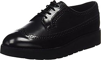 Cult Mujer Alice Low 892 Syn.Patent Zapatos Brogue Negro Size: 38