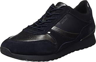 Geox D Theragon C, Zapatillas para Mujer, Azul (Denim), 36 EU