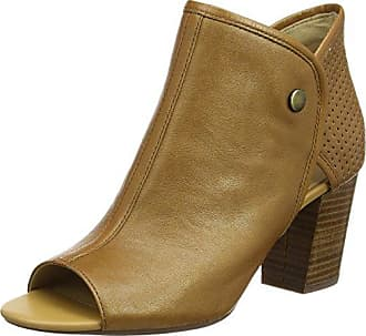 Geox D Marlyna G, Botines para Mujer, Beige (Sand/Chestnut), 37.5 EU