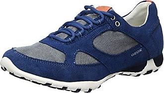 Geox Damen D Nebula S A Slip on Sneaker, Blau (Navy C4002), 40 EU