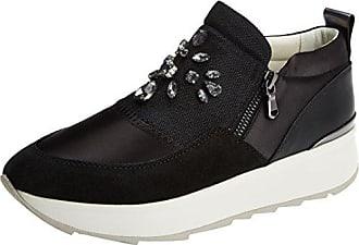 Geox D Nhenbus C, Zapatillas para Mujer, Negro (Black), 35 EU