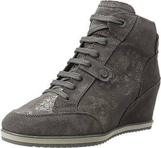 Geox Mädchen J Kalispera Girl J Sneaker, Beige (Dk Beige), 39 EU
