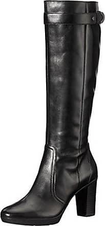 Geox Donna Meldi Stivali - Bottes - Femme - Noir (Black) - 35 EU Negro (Black) 35 EU