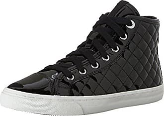D New Club C, Zapatillas Mujer, Negro (BLACKC9997), 36 EU Geox