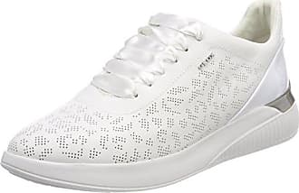 Geox Damen D Trysure B Sneakers, Grau (LT GREYC1010), 41 EU