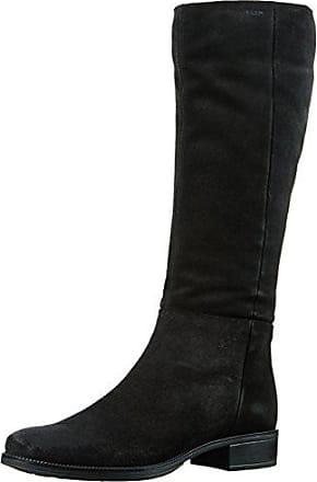 Remonte D8577, Botas de Montar para Mujer, Negro (Schwarz/Schwarz/Schwarz-Antik), 36 EU