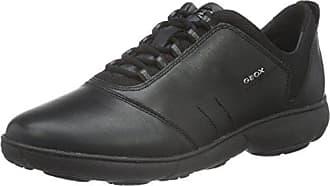 Geox D Theragon a, Zapatillas para Mujer, Negro (Black), 41 EU
