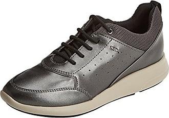 Geox D Sukie a, Zapatillas para Mujer, Grau (Gunc1357), 42 EU