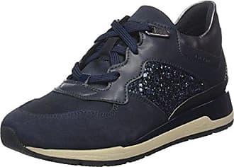 Geox Damen D Nebula B Sneaker, Blau (Navy), 38 EU