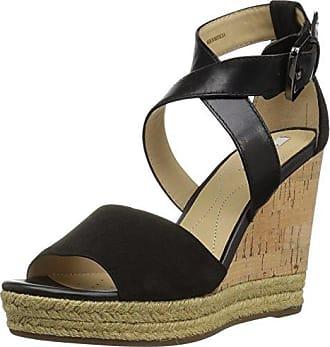 Geox GALENE Riemchen Sandale für Damen in schwarz - D828WC 021AW C9999 (Gr. 37, 38, 36, 40)