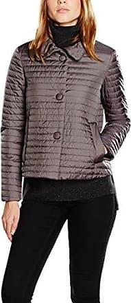 Woman Down Jacket - Blouson - Femme - Gris (Titanium F1069) - 40 (Taille Fabricant: 10)Geox
