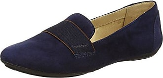 Textil D YUKI A D3255A00043C4002 - Mocasines para mujer, color azul, talla 35 Geox
