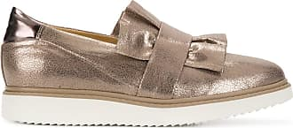 frilled design flat loafers - Nude & Neutrals Geox