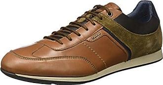 U Snake B, Herren Sneakers, Braun (c6009), 43 EU Geox