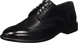 Geox U Damocle B, Zapatos de Cordones Brogue para Hombre, Azul (Navy), 43 EU