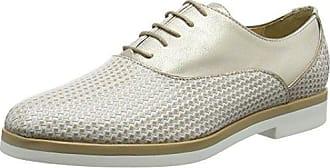 Geox D Thymar C, Zapatillas para Mujer, Plateado (Silver/White), 38 EU
