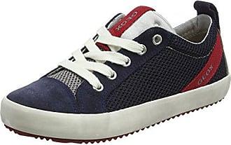 Geox J Jensea E, Zapatillas para Niñas, Azul (Avio), 35 EU