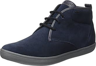 Geox U Box H, Baskets Montantes Homme, Bleu (Navy), 44 EU