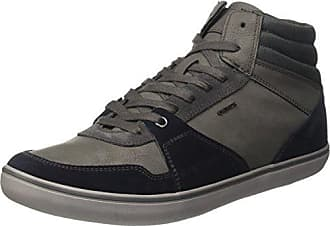 Geox U Box D, Sneakers Basses Homme, Gris (Anthracite/Navy), 43 EU