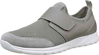 Geox U Wells A, Sneakers Basses Homme, Gris (Stone), 42 EU