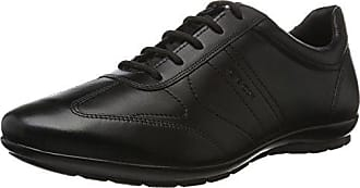 U DUBLIN B, Scarpe eleganti uomo, Nero (BLACKC9999), 43.5 Geox