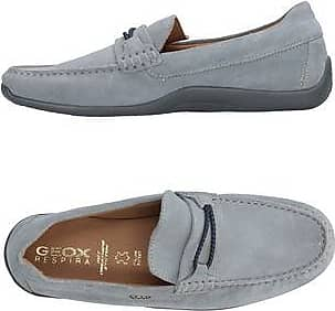 two-tone classic loafers - Grey Geox