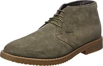 U Jaylon C, Desert Boots Homme, Gris (Black/DK Grey), 46 EUGeox