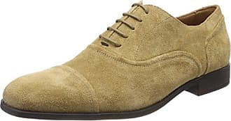 Manz Cremona, Zapatos de Cordones Oxford para Hombre, Beige (Beige/Hazelnut 531), 43 EU