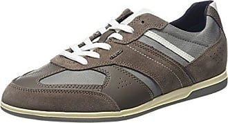 U Renan A, Sneakers Basses Homme, Gris (Taupe/Stone), 42 EUGeox