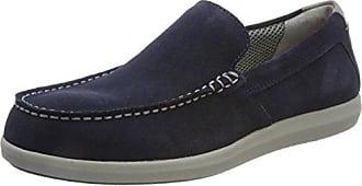 U Shark A, Mocassins (Loafers) Homme, Bleu (Blue), 46 EUGeox