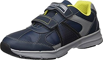 J Kommodor B, Zapatillas Unisex Adulto, Azul (Navy/Lime), 41 EU Geox